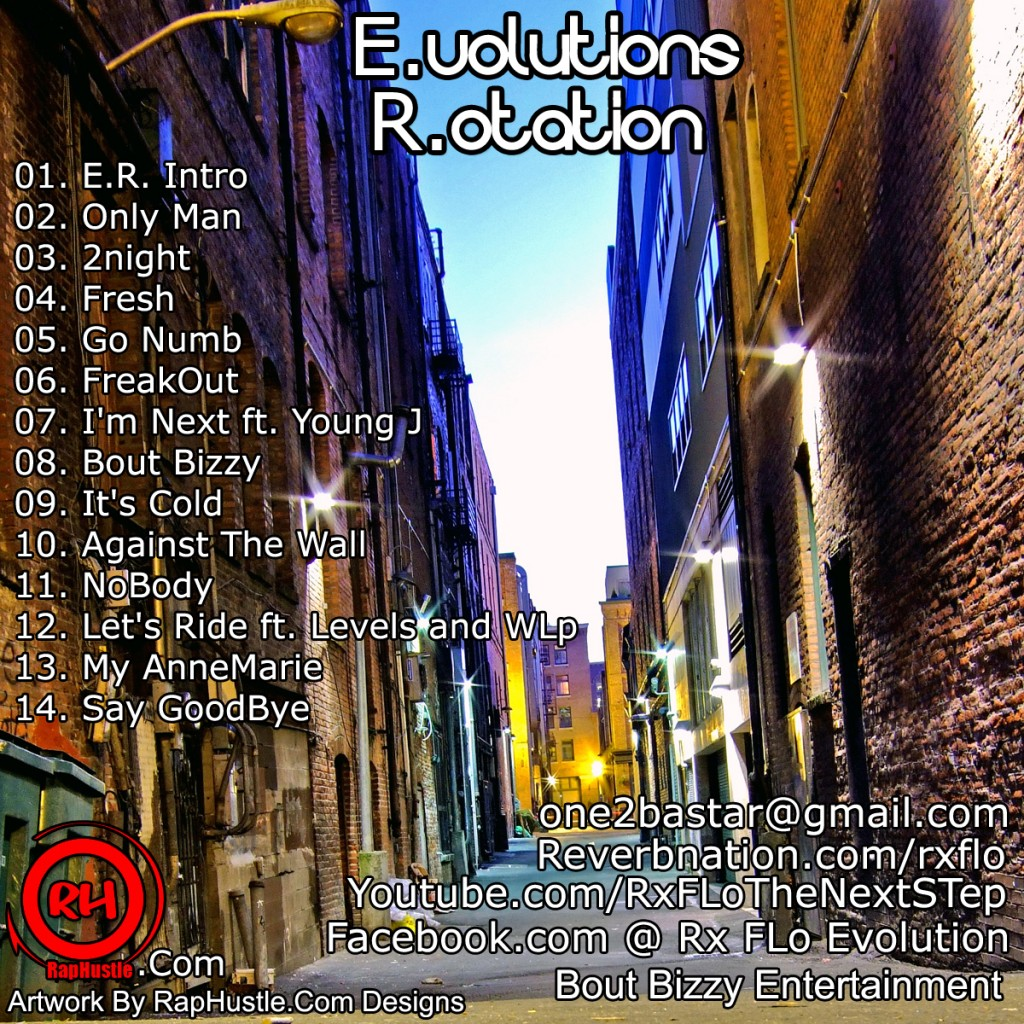 Rx Flo - E.volutions R.otation - Back Cover